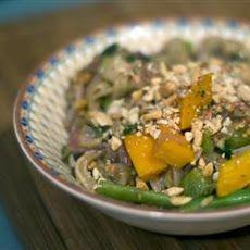 Thai Peanut Noodle Stir-Fry Recipe