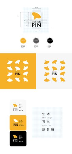 Design Pin Branding on Behance - Entwurf Wedding bells, Amalfi coast and the Dots