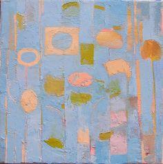 Patrick Bradley.  Sprunklechime.  oil on canvas.   20cms x 20cms