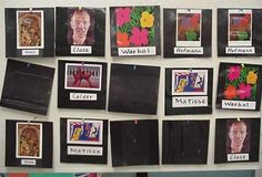 The memory game helps students to learn about artists or art elements while increasing their visual memory.
