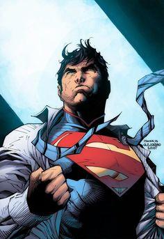 Superman Jim Lee, Superman Family, Superman Man Of Steel, Comic Book Artists, Comic Books Art, Comic Art, Comic Pics, Dc Comics Art, Marvel Dc Comics
