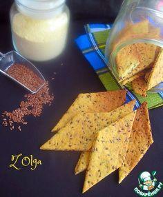 Кукурузное печенье с семенами льна - кулинарный рецепт