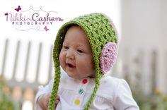 Ravelry: Autumn Breezes Bonnet pattern by Kendra Parks
