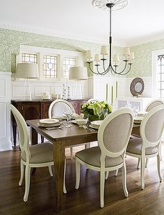love these dining room chairs!