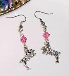Baby girl reveal earrings mum to be earrings baby shower Beautiful Things, Beautiful People, Etsy Handmade, Handmade Items, Handmade Jewellery, Unique Jewelry, Wales Uk, Beach Jewelry, Pet Clothes