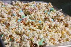 Easter Bunny Bait  I've seen other recipes that also add rice chex cereal to the mix