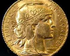 French Coins, Coin Auctions, Coin Art, Gold And Silver Coins, Gold Stock, Antique Coins, Bronze, Gold Bullion, Diamonds And Gold