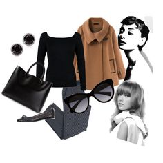 A fashion look from November 2014 featuring Amanda Wakeley sweaters, Chicnova Fashion coats and Le Mie Ballerine flats. Browse and shop related looks. Lo stile di Audrey Hepburn su Taylor Swift