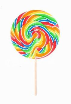 These kinds of lollipops. I never left a theme park without one.