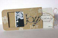 Christmas crafts - Christmas card handmade