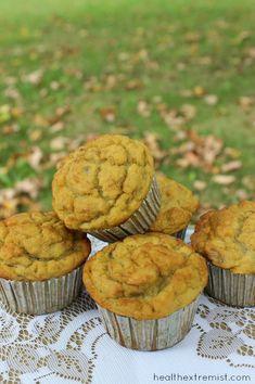 Coconut Flour Paleo Banana Muffins Recipe - Gluten free, grain free - Health Extremist