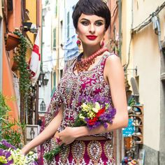 Asiana Summer Weddings 2014 issue - in Malaga necklace and Kniginia earrings by Jolita Jewellery