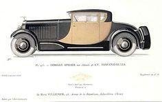 Hispano Suiza rendering