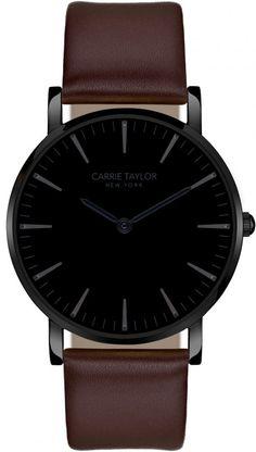 Carrie Taylor Lexington CA3814-GMBLBR - Dameklokker - Denne klokken er designet og produsert av Carrie Taylor, som lager moderne klokker med elegant design. Carrie er kjent for å hente inspirasjon fra de hotteste i moteverden når de produserer sin kolleksjon.