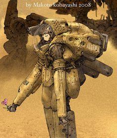 Rocketumblr | 小林誠 Makoto Kobayashi