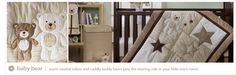 From Carter's - adorable teddy bear nursery bedding!