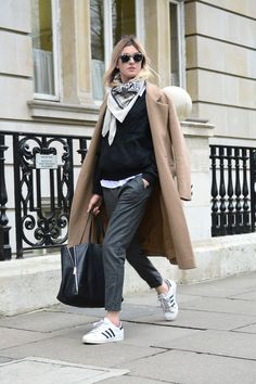 Well apparently I'm out in the cold unless I have a camel trench and some Stan Smiths. Cheerio #CamilleOvertheRainbow