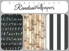 Sims4Luxury: Random wallpapers Set 1 • Sims 4 Downloads