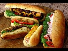 #Vegetable #Hot #Dog: Chickpea patty stuffed in hot dog bread https://goo.gl/dyjVal