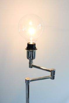 Big industrial light bulb