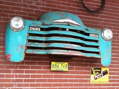 """so want to """"do"""" a jeep front or? (whatever I could manage to find...) on our garage wall..."""