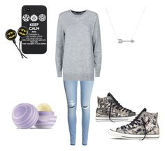 """Casual"" by breemanor ❤ liked on Polyvore featuring H&M, rag & bone, Converse, Eos and Adina Reyter"