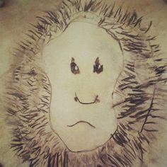 """Monkey"" by MJF, age 5"