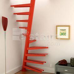 stairs  (In steel) maz vietu aizņem