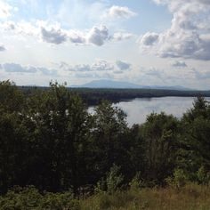 Katahdin in the distance #Maine