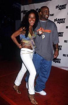 Aaliyah Photo: Aaliyah and Damon at the premiere of the' Planet of the Apes' movie Rip Aaliyah, Aaliyah Style, Aaliyah Pictures, Planet Movie, Aaliyah Haughton, Toni Braxton, Mtv Videos, Hip Hop And R&b, Planet Of The Apes
