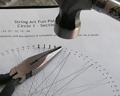 How to do string art crafty-ideas