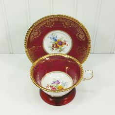 W.B 3 Sets in Stock Meyers Cup /& Saucer Set Miniature Sterling Scarce