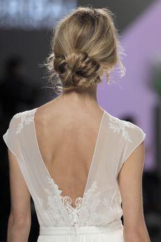 Pretty low bun: http://www.stylemepretty.com/2016/05/01/hair-makeup-bridal-week-barcelona-bridal-fashion-week/