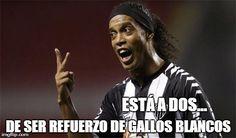 Ronaldinho está por convertirse en jugador de la Liga Mexicana #Ronaldinho #GallosBlancos #FichajeRonladinho #Dinhoemplumado