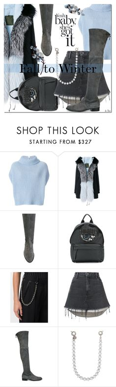 """FALL TO WINTER"" by deneve ❤ liked on Polyvore featuring Jil Sander, Mr & Mrs Italy, Stuart Weitzman, Chiara Ferragni, Ermanno Scervino, Alexander Wang, winterstyle and wintersweater"