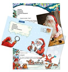 Santa Claus' letter from Lapland version Christmas season 2016