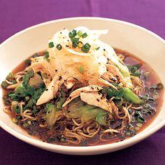ゆでどりのあっさり冷やし中華 | コウケンテツさんの料理レシピ | プロの簡単料理レシピはレタスクラブニュース