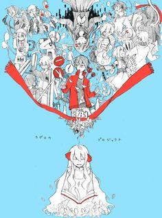 Tags: Enomoto Takane, Kagerou Project, Amamiya Hibiya, Kido Tsubomi, Asahina Hiyori, Kozakura Mary, Kisaragi Momo, Kokonose Haruka, Kano Shu...