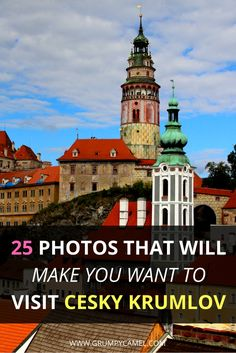 Czech Republic | 25 stunning photos of Cesky Krumlov: http://www.grumpycamel.com/the-fairytale-town-of-cesky-krumlov