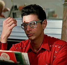 Jeff Goldblum in Buckaroo Banzai, 1984 Supernatural Actors, Vintage Bra, Science Fiction Series, Dan Stevens, Hugh Laurie, Daddy Long, Cult Movies, Action Poses, Good Movies