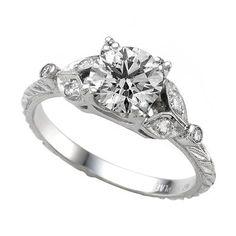 Vintage Design Engagement Ring