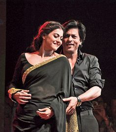 """""""We are not very good dancers, but we will do Gerua for you."""" Can it get more magical than Shah Rukh Khan and Kajol close dancing to their Dilwale hit Gerua? The two — he sexy in a black suit, she stunning in a black and gold Sabyasachi sari — brought a capacity crowd at the East Bengal Club grounds to their feet a little after 9pm on Tuesday evening as they recreated their hot, hot chemistry on a cold December evening. Looking into each other's eyes, laughing and giggling and giving us…"""