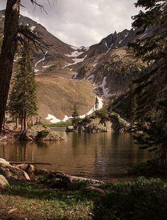 """Lake Agnes N. Colorado"" by Johnny Gomez Colorado Trip, Colorado River, Colorado Mountains, Rocky Mountains, Greeley Colorado, Never Summer, Alpine Lake, Mountain High, State Forest"