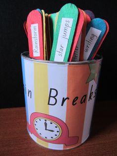 Brain Break Ideas