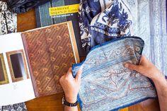 J.Crew | Blog: Behind the Design: Wool-Silk Scarves