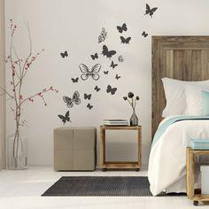 Αυτοκολλητα τοιχου πεταλουδες - Ninesix.gr