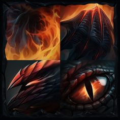 Steam Workshop :: Knight of the Burning Scale - Spell icons
