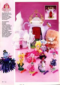 Doll & toy collection from Rose Petal Place.