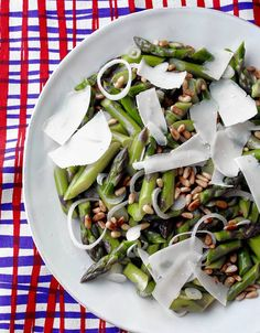 Chilled Asparagus Salad With Bitters Vinaigrette