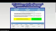 MLM Recruit On Demand Leads In 5 Days!!